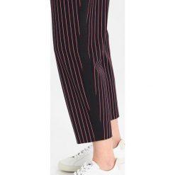 Ted Baker COLOUR BY NUMBERS TARRA STRIPED TIE WAIST TROUSER Spodnie materiałowe navy. Niebieskie spodnie z wysokim stanem Ted Baker, z elastanu. W wyprzedaży za 421,85 zł.