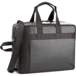 Torba na laptopa TRUSSARDI JEANS - San Diego 71B00048  K299. Czarne plecaki męskie marki Trussardi Jeans, z jeansu. W wyprzedaży za 419,00 zł.