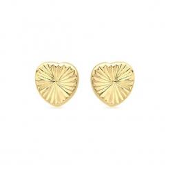 Złote kolczyki. Żółte kolczyki damskie Golden Moments, złote. W wyprzedaży za 119,95 zł.