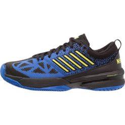 KSWISS KNITSHOT Obuwie multicourt black/strong blue/neon citron. Białe buty do tenisa męskie marki K-SWISS. Za 759,00 zł.
