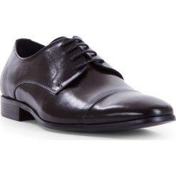 Buty męskie 83-M-921-1. Czarne buty wizytowe męskie Wittchen, z syntetyku. Za 239,00 zł.