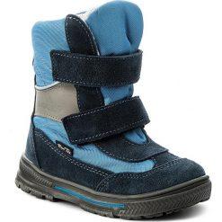 Buty zimowe chłopięce: Śniegowce RENBUT – 22-3216 Niebieski