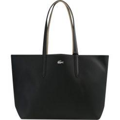 Lacoste REVERSIBLE SHOPPING Torba na zakupy black warm sand. Czarne shopper bag damskie Lacoste. Za 449,00 zł.
