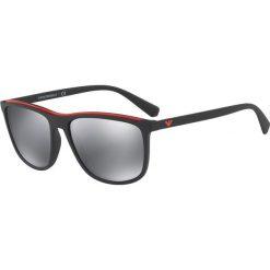 Okulary przeciwsłoneczne męskie aviatory: Emporio Armani - Okulary EA4109