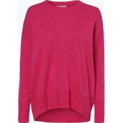 Marie Lund - Damski sweter z wełny merino, różowy. Czerwone swetry klasyczne damskie Marie Lund, xxl, z dzianiny. Za 249,95 zł.