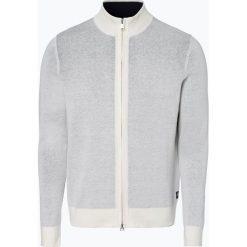 Swetry rozpinane męskie: Marc O'Polo - Kardigan męski z dodatkiem lnu, beżowy