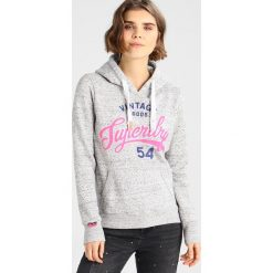 Bluzy damskie: Superdry VINTAGE GOODS ENTRY HOOD Bluza z kapturem seastone grey snowy