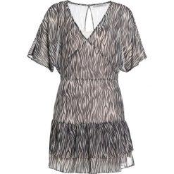 Sukienki hiszpanki: AllSaints MARLEY ZEBRA Sukienka letnia braun