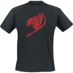 T-shirty męskie z nadrukiem: Fairy Tail Logo T-Shirt czarny