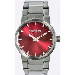 Nixon - Zegarek A1602073. Czarne zegarki męskie marki Fossil, szklane. W wyprzedaży za 449,90 zł.