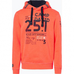 Camp David - Męska bluza nierozpinana, czerwony. Czerwone bluzy męskie rozpinane marki KALENJI, m, z elastanu, z długim rękawem, długie. Za 369,95 zł.