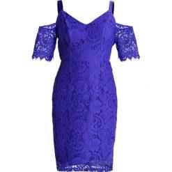 Sukienki hiszpanki: Dorothy Perkins Petite COLD SHOULDER Sukienka etui cobalt