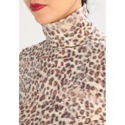 Bluzki asymetryczne: Majestic Bluzka z długim rękawem original jaguar