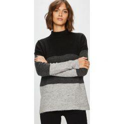 Answear - Sweter. Szare swetry klasyczne damskie ANSWEAR, m, z dzianiny. W wyprzedaży za 89,90 zł.
