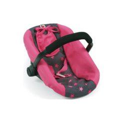 Śliniaki: BAYER CHIC 2000 Fotelik samochodowy dla lalek dots pink