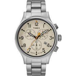 Timex - Zegarek TW2R47600. Czarne zegarki męskie marki Fossil, szklane. Za 539,90 zł.
