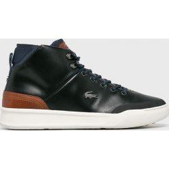 Lacoste - Buty. Szare buty skate męskie Lacoste, z gumy, na sznurówki, thinsulate. Za 599,90 zł.