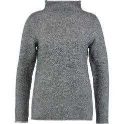 Swetry klasyczne damskie: Soyaconcept CAROLE  Sweter dark grey melange