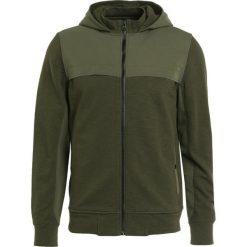 BOSS CASUAL ZTEP Bluza rozpinana khaki. Brązowe bluzy męskie rozpinane marki BOSS Casual, m, z bawełny, casualowe. W wyprzedaży za 419,50 zł.