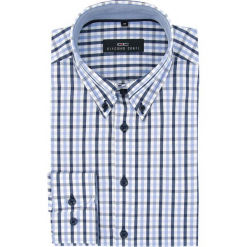 Koszula  BIAGIO slim 16-03-07-K. Czarne koszule męskie na spinki marki TOM TAILOR DENIM, l, z bawełny, button down, z długim rękawem. Za 149,00 zł.