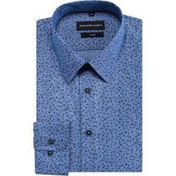 Koszula SIMONE KDNS000326. Szare koszule męskie na spinki marki House, l, z bawełny. Za 169,00 zł.
