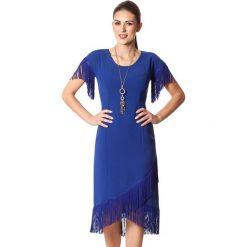Sukienki asymetryczne: Sukienka w kolorze niebieskim