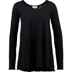 Bluzki asymetryczne: American Vintage BYSAPICK Bluzka z długim rękawem noir vintage