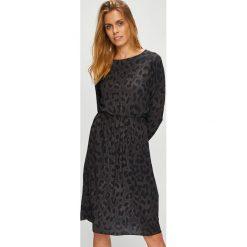 Haily's - Sukienka. Niebieskie sukienki mini marki DOMYOS, z elastanu, street, z okrągłym kołnierzem. Za 129,90 zł.