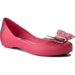 Baleriny ZAXY - Butterfly Kids 82412 Róż 01148 Y385016. Czerwone baleriny damskie Zaxy, z tworzywa sztucznego. W wyprzedaży za 109,00 zł.