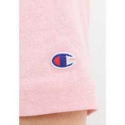 T-shirty męskie z nadrukiem: Champion Reverse Weave CLASSIC APPLIQUÉ TEE Tshirt z nadrukiem pink