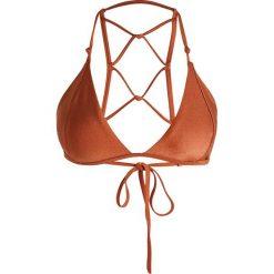 Stroje dwuczęściowe damskie: Somedays Lovin RISING FLAMES TRIANGLE  Góra od bikini gold