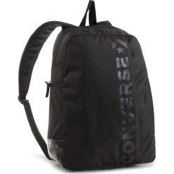 Plecak CONVERSE - 10008286-A01 A01. Czarne plecaki damskie Converse, z materiału, sportowe. W wyprzedaży za 119,00 zł.
