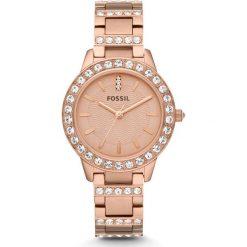 Zegarek FOSSIL - Jesse ES3020  Rose Gold/Rose Gold. Różowe zegarki damskie marki Fossil, szklane. Za 509,00 zł.