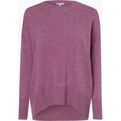 Marie Lund - Damski sweter z wełny merino, lila. Fioletowe swetry klasyczne damskie Marie Lund, l, z dzianiny. Za 249,95 zł.