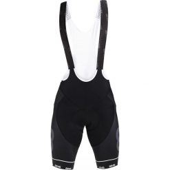 Kalesony męskie: 8848 Altitude FLOW BIB BIKE SHORTS Legginsy black/black