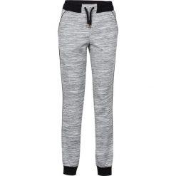 Spodnie dresowe damskie: Spodnie dresowe bonprix szary melanż