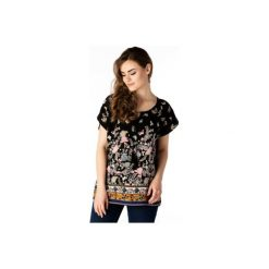 Bluzki damskie: bluzka damska luźna we wzory