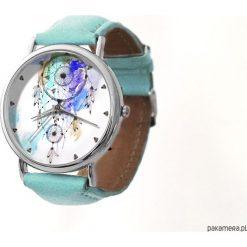 Zegarek z dużą tarczką Łapacz snów. Białe zegarki damskie Pakamera. Za 120,00 zł.