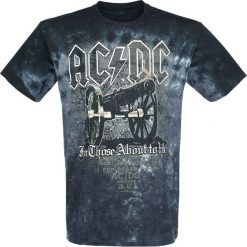 T-shirty męskie z nadrukiem: AC/DC For Those About To Rock – Cannon T-Shirt czarny