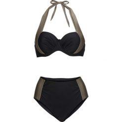Bez Kategorii: Bikini na fiszbinach (2 części) bonprix czarno-jasnooliwkowy