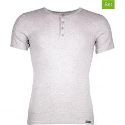Podkoszulki (3 szt.) w kolorze jasnoszarym. Białe podkoszulki męskie marki B'TWIN, m, z elastanu, z krótkim rękawem. W wyprzedaży za 108,95 zł.