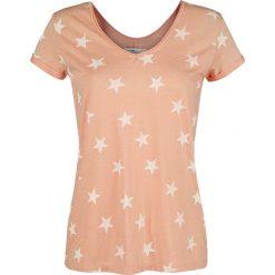 Urban Surface Stars Koszulka damska żółto-pomarańczowy (Apricot). Brązowe bluzki damskie Urban Surface, m, z nadrukiem. Za 42,90 zł.