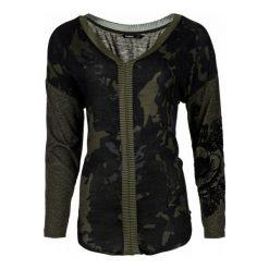 Desigual Bluzka Damska Camiseta Xs Khaki. Szare bralety marki Desigual, l, z tkaniny, casualowe, z długim rękawem. W wyprzedaży za 174,00 zł.