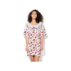 Sukienka CP-024  265. Różowe sukienki dzianinowe marki Colour pleasure. Za 149,00 zł.
