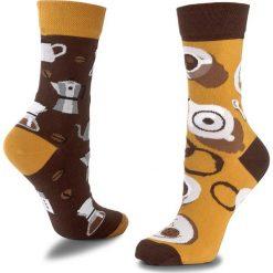 Skarpety Wysokie Unisex MANY MORNINGS - Coffe Lover Brązowy Kolorowy. Czerwone skarpetki męskie marki Happy Socks, z bawełny. Za 29,00 zł.