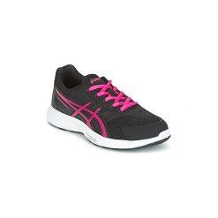 Buty Dziecko Asics  STORMER 2 GS. Czarne buty sportowe dziewczęce Asics. Za 186,27 zł.