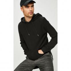 Premium by Jack&Jones - Bluza. Czarne bluzy męskie rozpinane Premium by Jack&Jones, l, z bawełny, z kapturem. Za 219,90 zł.