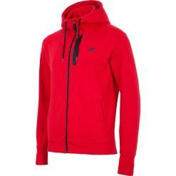 Bluzy męskie: 4f Bluza męska H4L18-BLM006 czerwona r. S