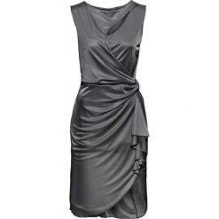 Sukienki: Sukienka z wycięciami bonprix antracytowy