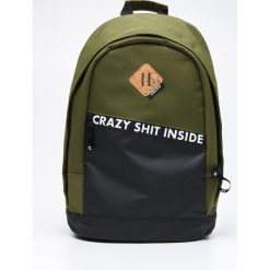 Plecaki męskie: Plecak z printem - Khaki